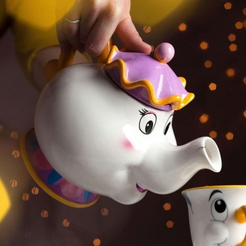 Beauty and the Beast Mrs Potts Theepot review test