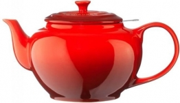 Le Creuset theepot rood review test