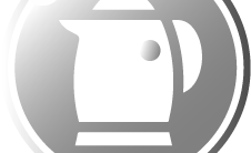 Waterkoker zilver